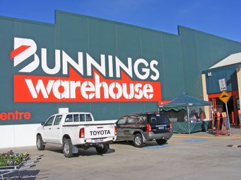 Bunnings Sizzle and Leaf Blower Presentation