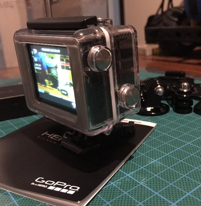 GoPro show LCD Screen
