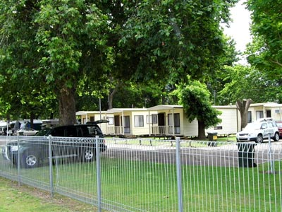 Caravan Park Accommodation around Bairnsdale