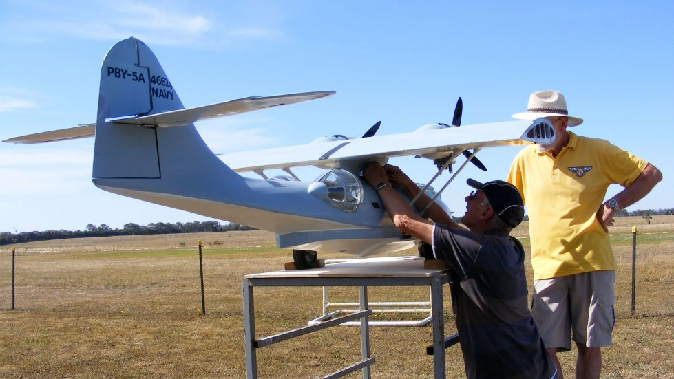 Catalina PBY5A Scale Model RC Flying Boat by Brian ...