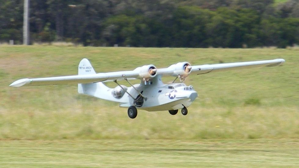 Catalina PBY5A Scale Model RC Flying Boat by Brian Hutchinson