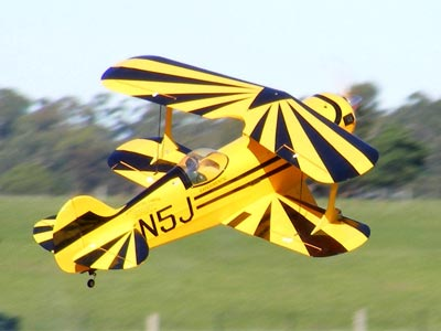 Fun Flying RC Model Aircraft Event Manoeuvres to Practice