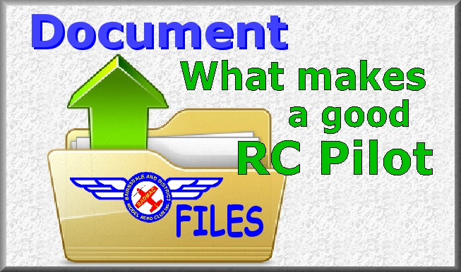 What makes a good RC pilot